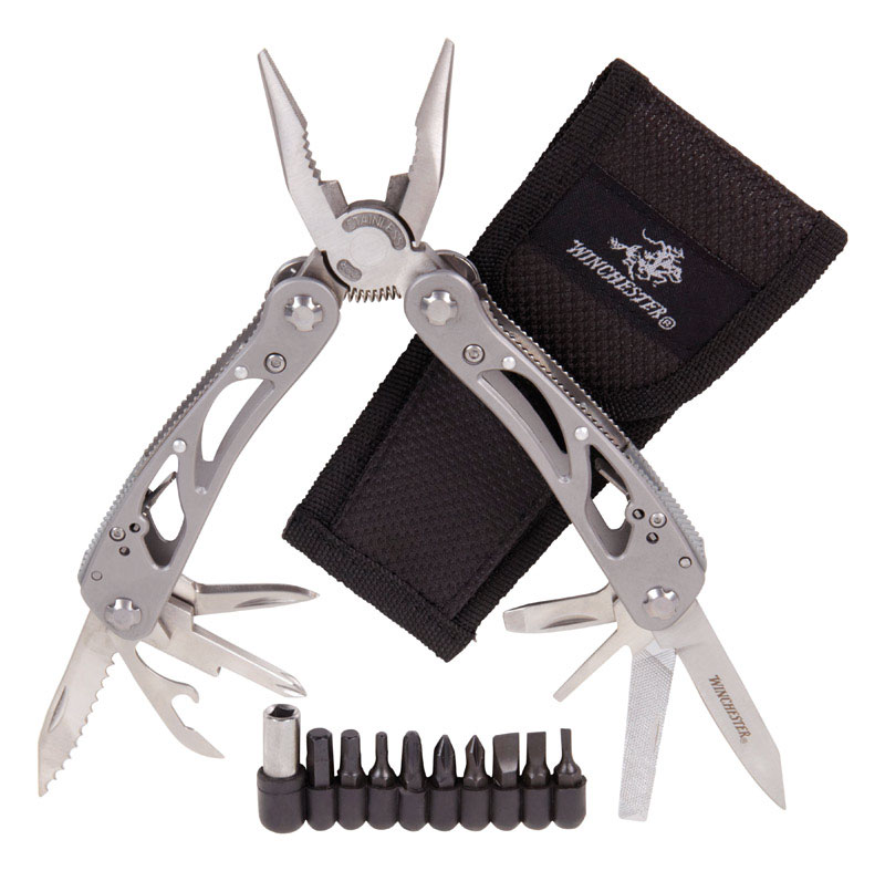 Winchester  WinFrame  Silver  Multi Tool