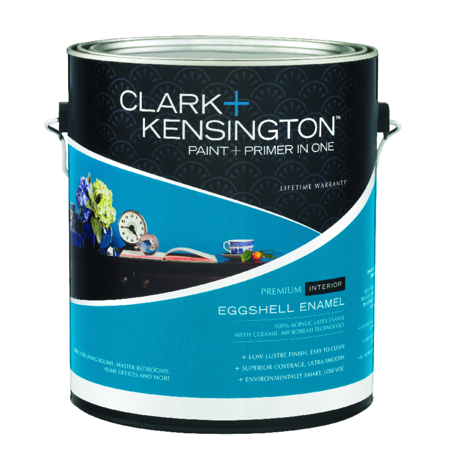 Clark+Kensington  Eggshell  Designer White  Acylic Latex  Paint and Primer  1 gal.