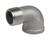 Smith-Cooper  2 in. FPT   x 2 in. Dia. FPT  Stainless Steel  Elbow