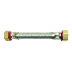 Ace 3/4 in. FIP x 3/4 in. Dia. FIP 24 in. Stainless Steel Supply Line