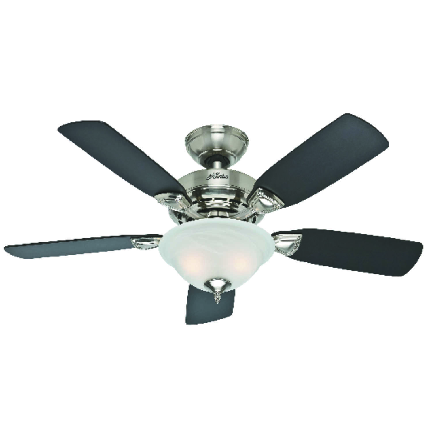 Hunter Fan  Caraway  44 in. 5 blade Indoor  Brushed Nickel  Ceiling Fan