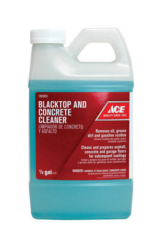 Ace  Blacktop And Concrete Cleaner  1/2 gal. Liquid