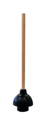 Cobra  Plunger with Wooden Handle  18 in. L x 6 in. Dia.