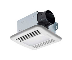 Delta  BreezIntegrity  50 CFM 0.7 Sones Ventilation Fan with Lighting