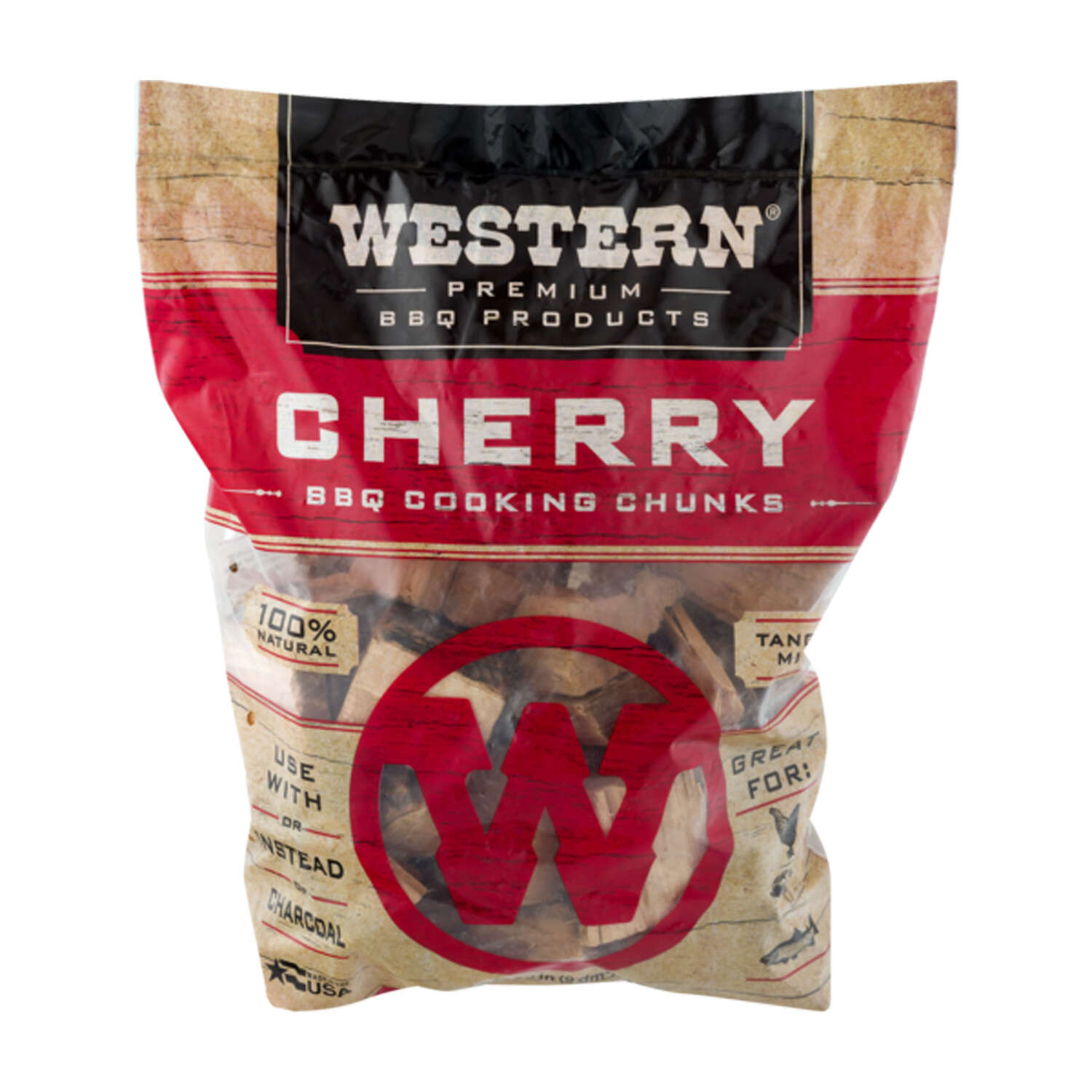 Western Cherry Cooking Chunks 549 cu. in.