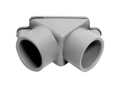 Carlon 1/2 in. Dia. PVC Electrical Conduit Elbow For PVC 1 pk