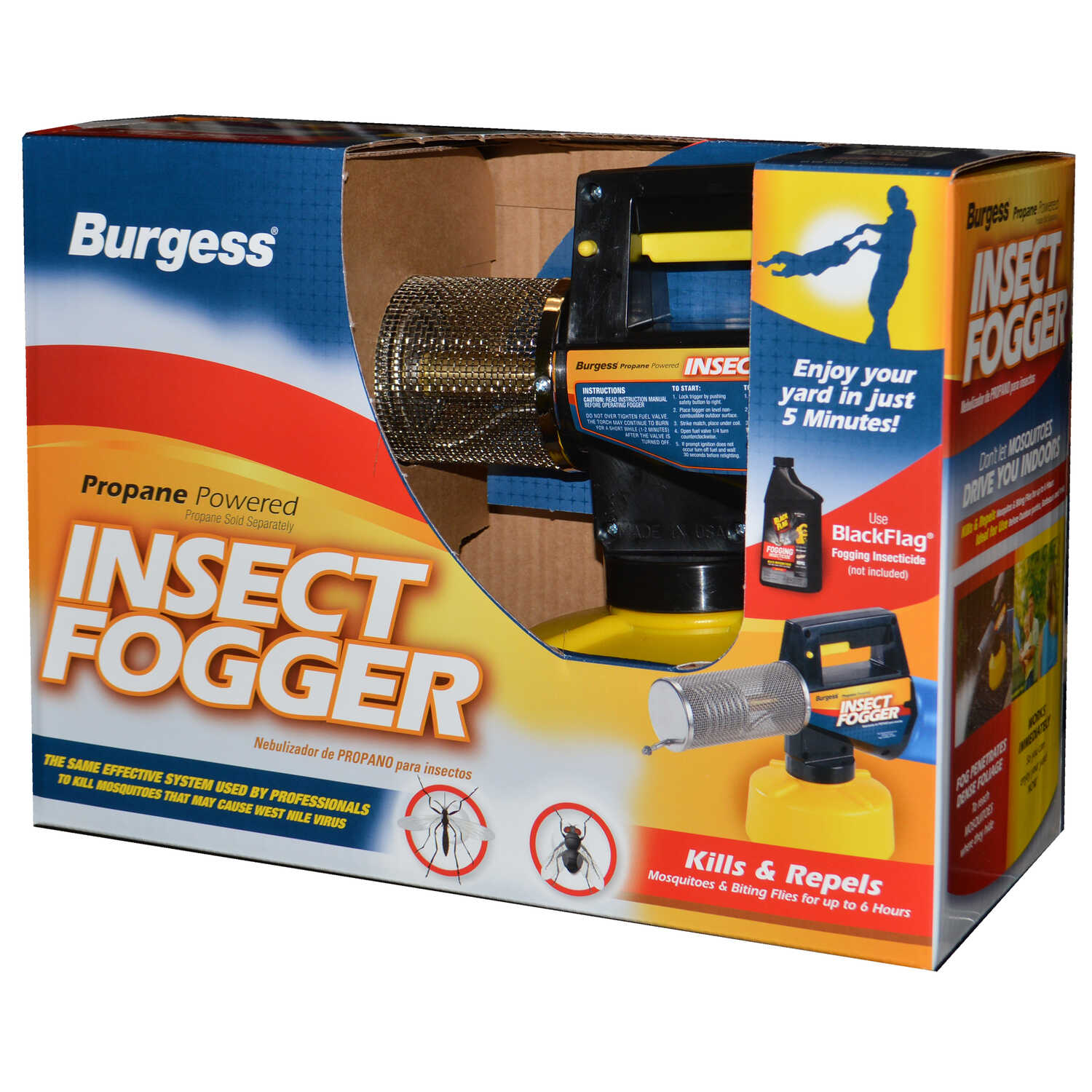Burgess Outdoor Insect Fogger - Ace Hardware