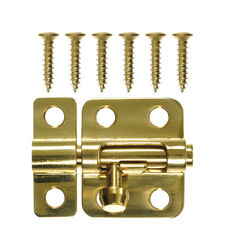Ace  Bright Brass  Brass  Barrel Bolt