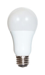 Satco  A19  E26 (Medium)  LED Bulb  Warm White  30/70/100 Watt Equivalence 1 pk