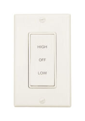 Air Vent  White  Plastic  Wall Switch