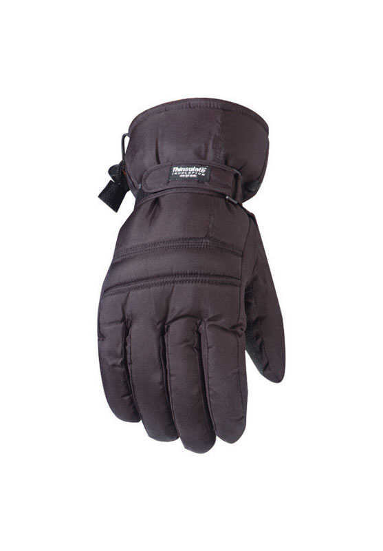 Wells Lamont  L  Nylon  Black  Ski Gloves
