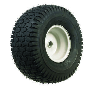 Arnold  Lawn Tractor Front  6 in. W x 15 in. Dia. Steel  Lawn Mower Replacement Wheel  300 lb.