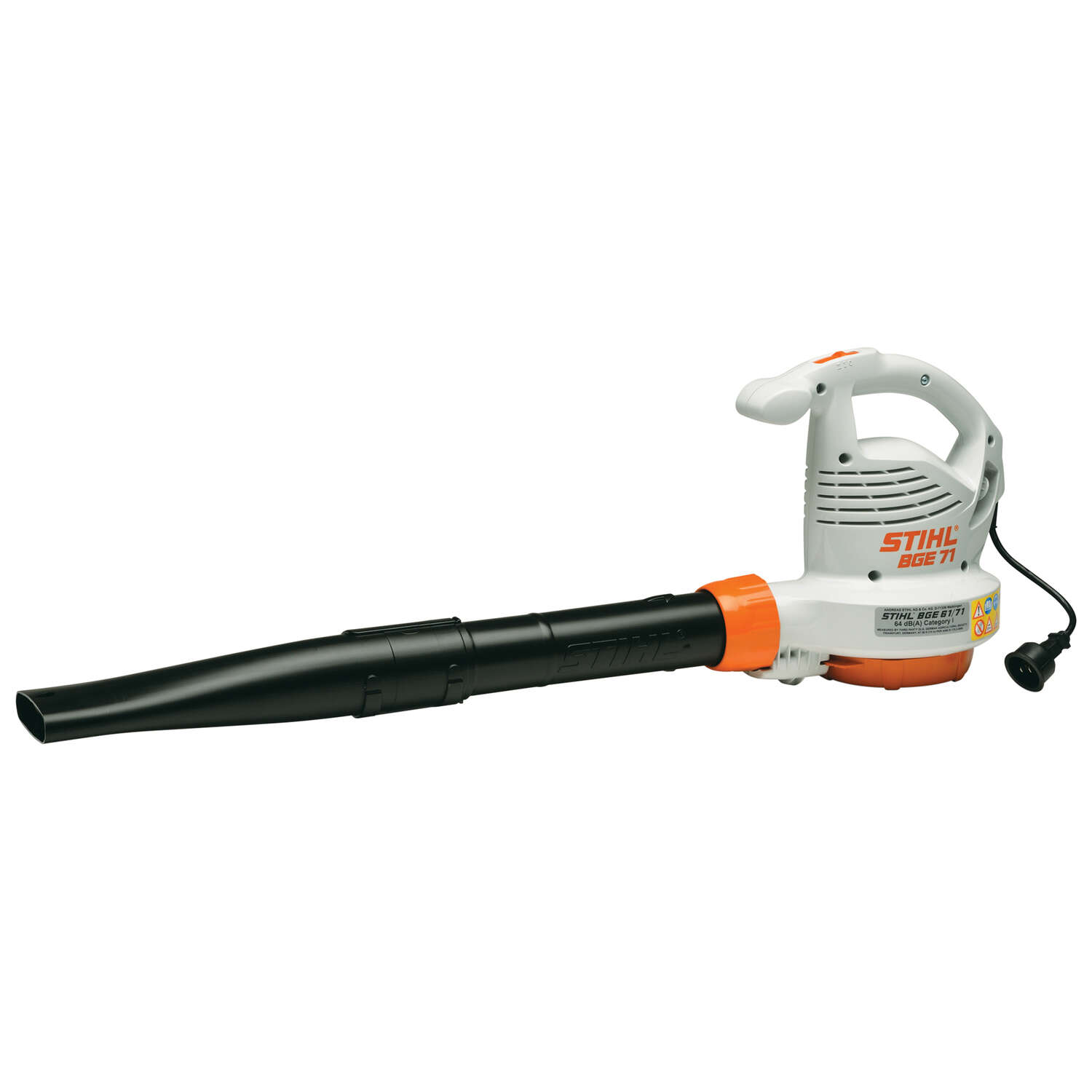 STIHL  BGE 71  Electric  Handheld  Leaf Blower