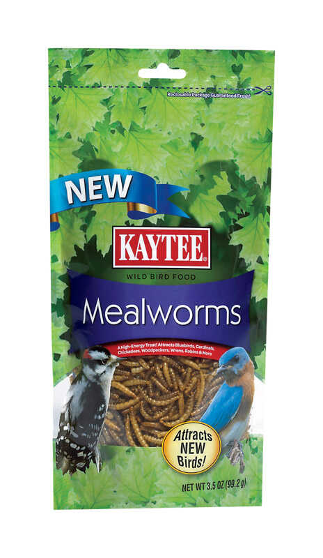 Kaytee  Woodpecker  Wild Bird Food  Mealworm  3.5 oz.