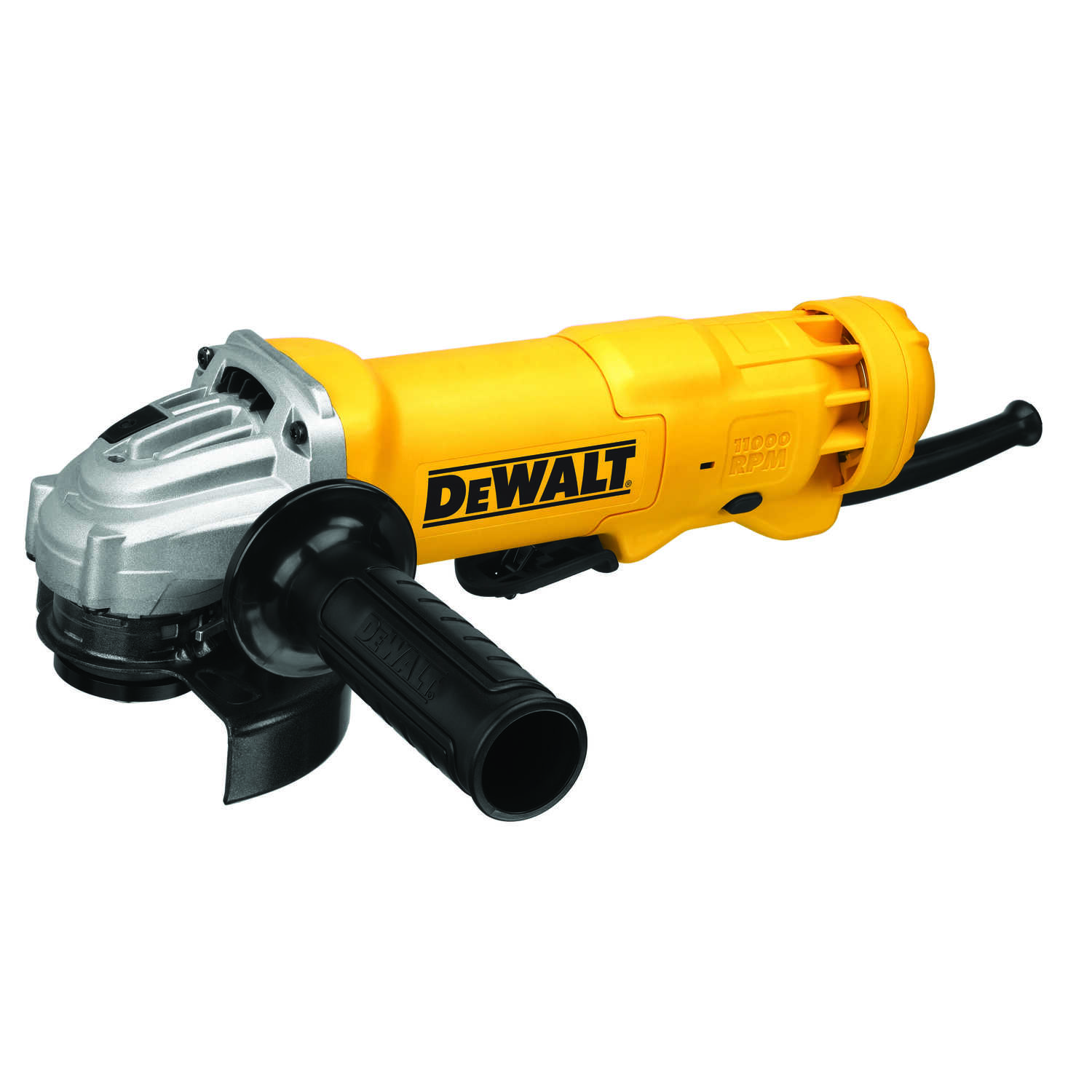 DeWalt  11 amps Corded  Small  Angle Grinder  11000 rpm 4-1/2 in.