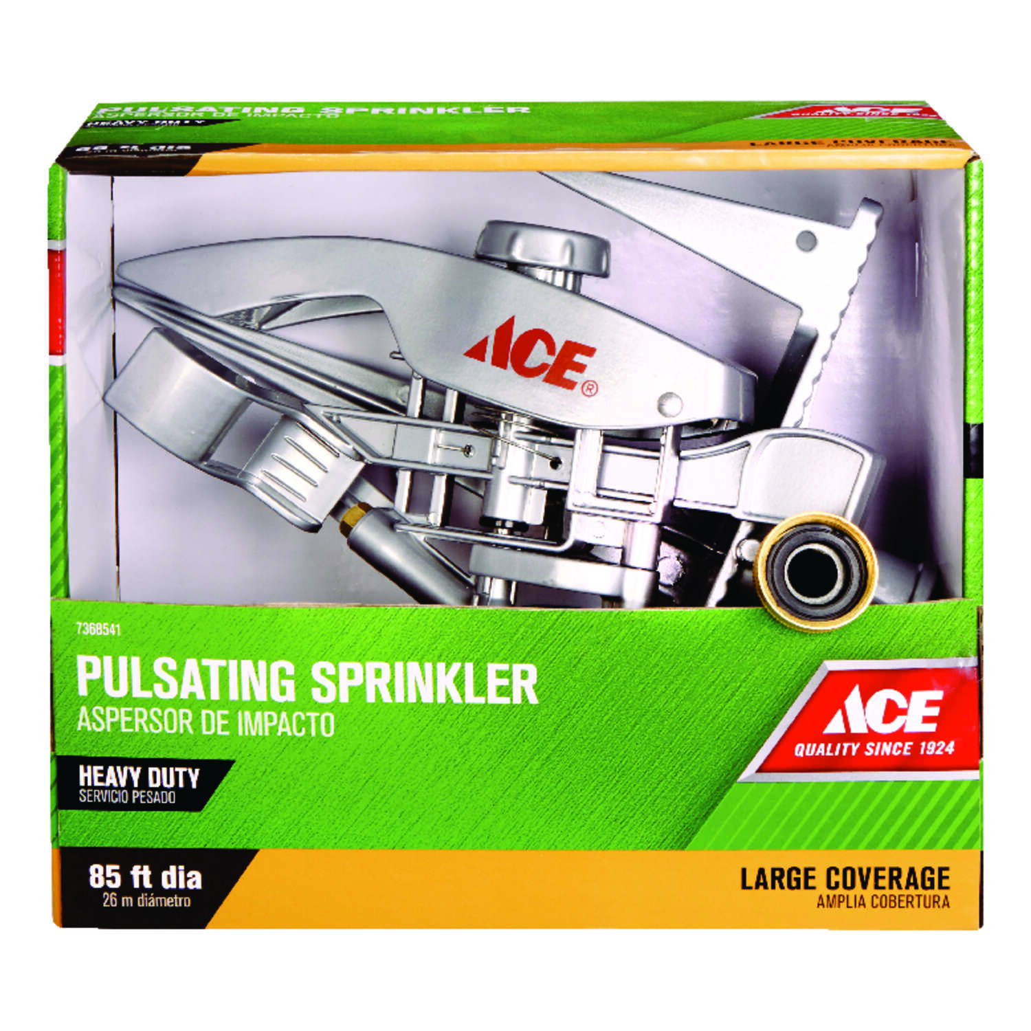 Ace  Metal  Tripod Base  Impulse Sprinkler  8500 sq. ft.