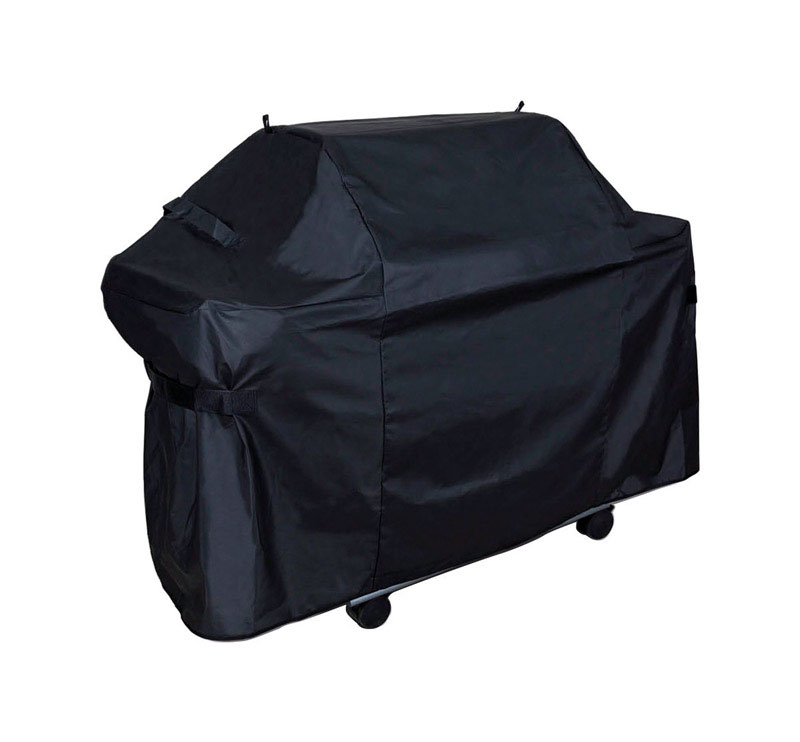 Grill Care  Black  Grill Cover  61 in. W x 42 in. H x 29 in. D For Fits Most Gas Barbecue Grills