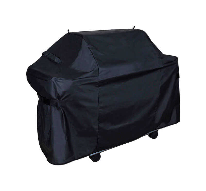 Grill Care  Black  Grill Cover  61 in. W x 29 in. D x 42 in. H For Many gas barbecue grills