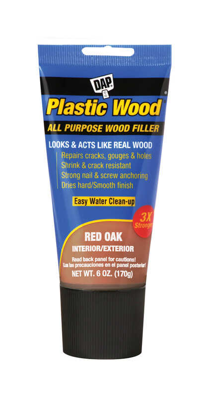 DAP  Plastic Wood  Red Oak  Stainable Wood Filler  6 oz.