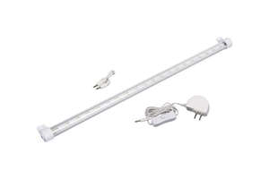 Westek  20 in. L White  LED  Plug-In  Strip Light