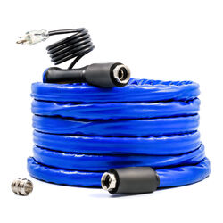 Camco  5/8 inch in. Dia. x 25 ft. L Blue  Heated Hose