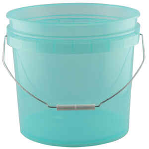Leaktite  Green  3.5 gal. Plastic  Bucket