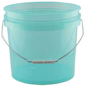 Leaktite  Green  Plastic  Bucket  3.5 gal.