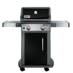 Weber  Spirit E-210  Liquid Propane  Grill  Black  2 burners