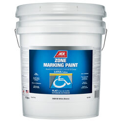 Ace White Zone Marking Paint 5 gal.