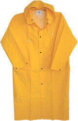 Boss  Yellow  PVC-Coated Rayon  Rain Jacket  L