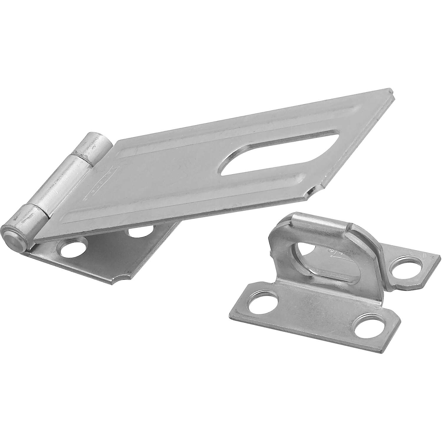 National Hardware  Zinc-Plated  Steel  4-1/2 in. L Safety Hasp  1 pk