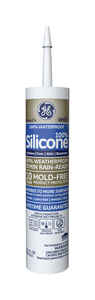 GE  Silicone 2  White  Silicone 2  Window and Door  Silicone  10.1 oz.