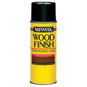 Minwax  Wood Finish  Semi-Transparent  Red Mahogany  Oil-Based  Wood Stain  11.5 oz.