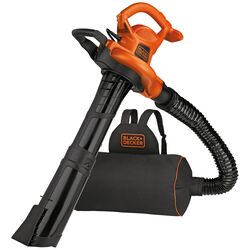 Black and Decker  250 mph 400 CFM Electric  Backpack  Blower/Mulcher/Vac  Tool Only