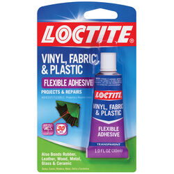 Loctite  Vinyl, Fabric & Plastic  High Strength  Paste  Flexible Adhesive  1 oz.