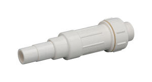 Homewerks  Schedule 40  1/2 in. Hub   x 1/2 in. Dia. Slip  PVC  Expansion Coupling