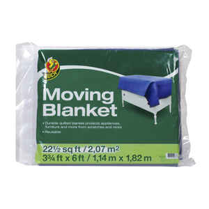 Duck Brand  45 in. W x 72 in. L Movers Blanket