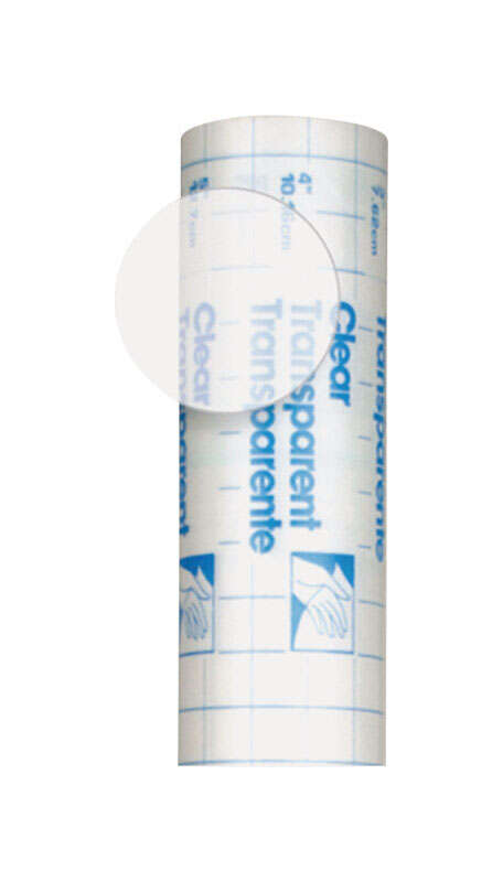 Con-Tact  Creative Covering  20 ft. L x 18 in. W Clear  Self-Adhesive  Liner