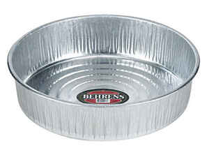 Behrens  3 gal. Feeder Pan  For Livestock