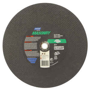 Norton  14 in. Silicon Carbide  Cut-Off Wheel  1/8 in.  x 1 in.  1 pc.