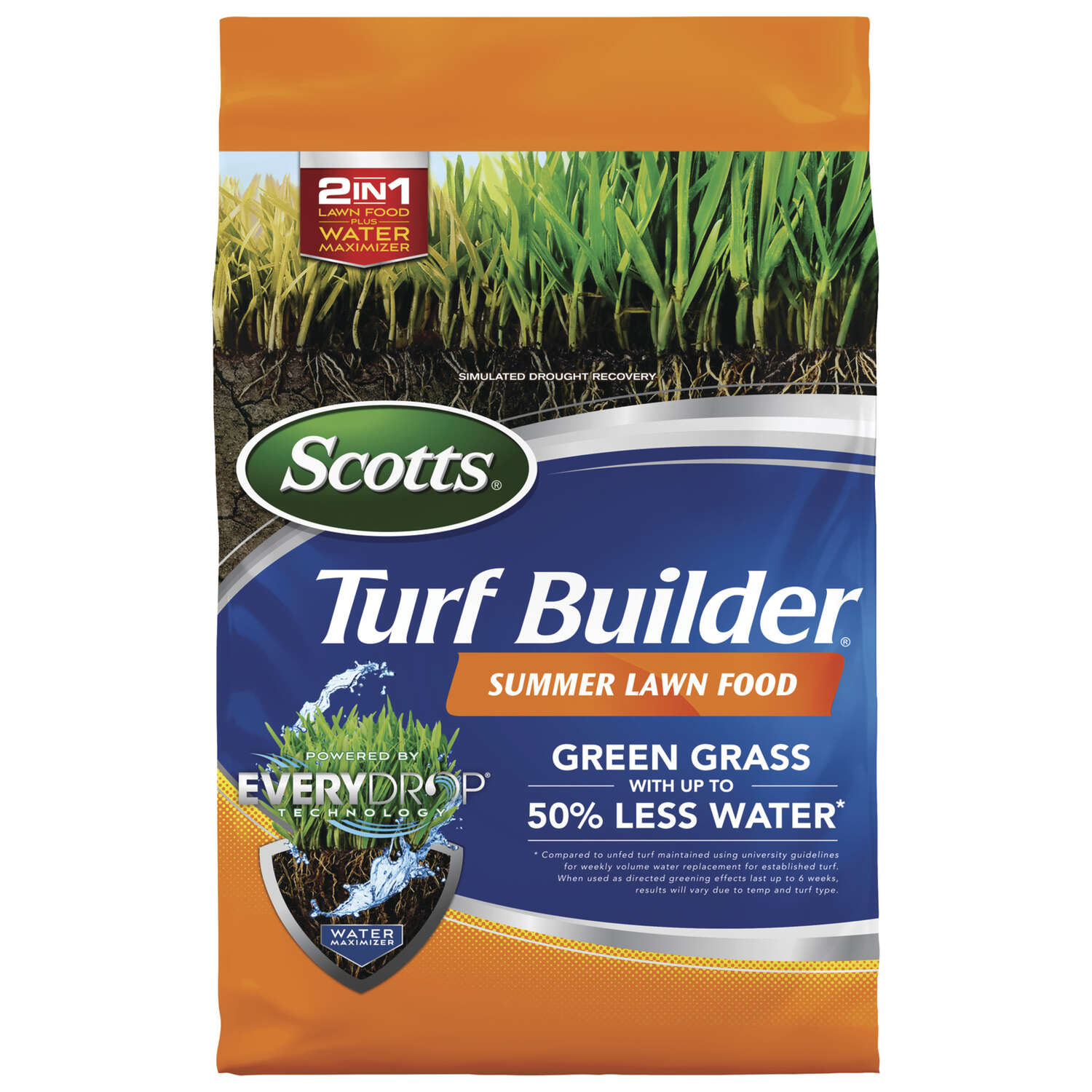 Scotts  Turf Builder  34-0-0  Lawn Food  For All Grass Types 9.5 lb. 4000 sq. ft.