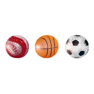 MultiPet  Multicolored  Sports Ball  TPR