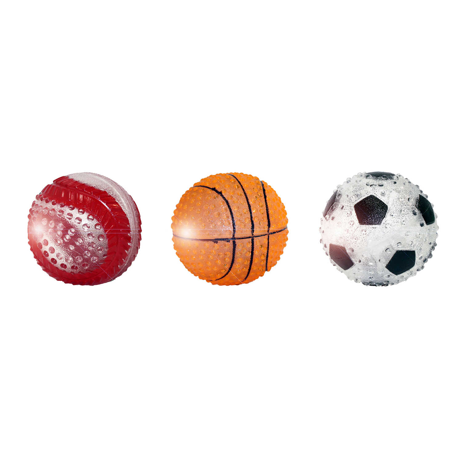 MultiPet  Sports Ball  TPR  Multicolored