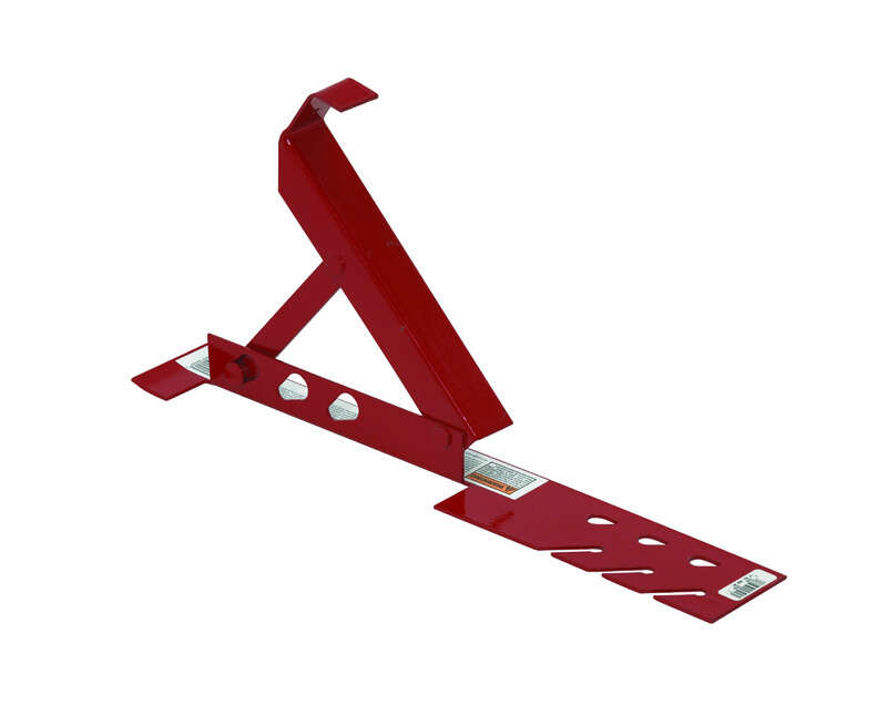 Qualcraft  Steel  Red  Roof Bracket  1 pk