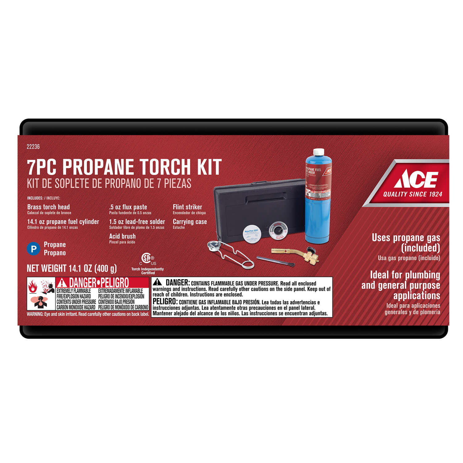 Ace  14.1 oz. Torch Kit