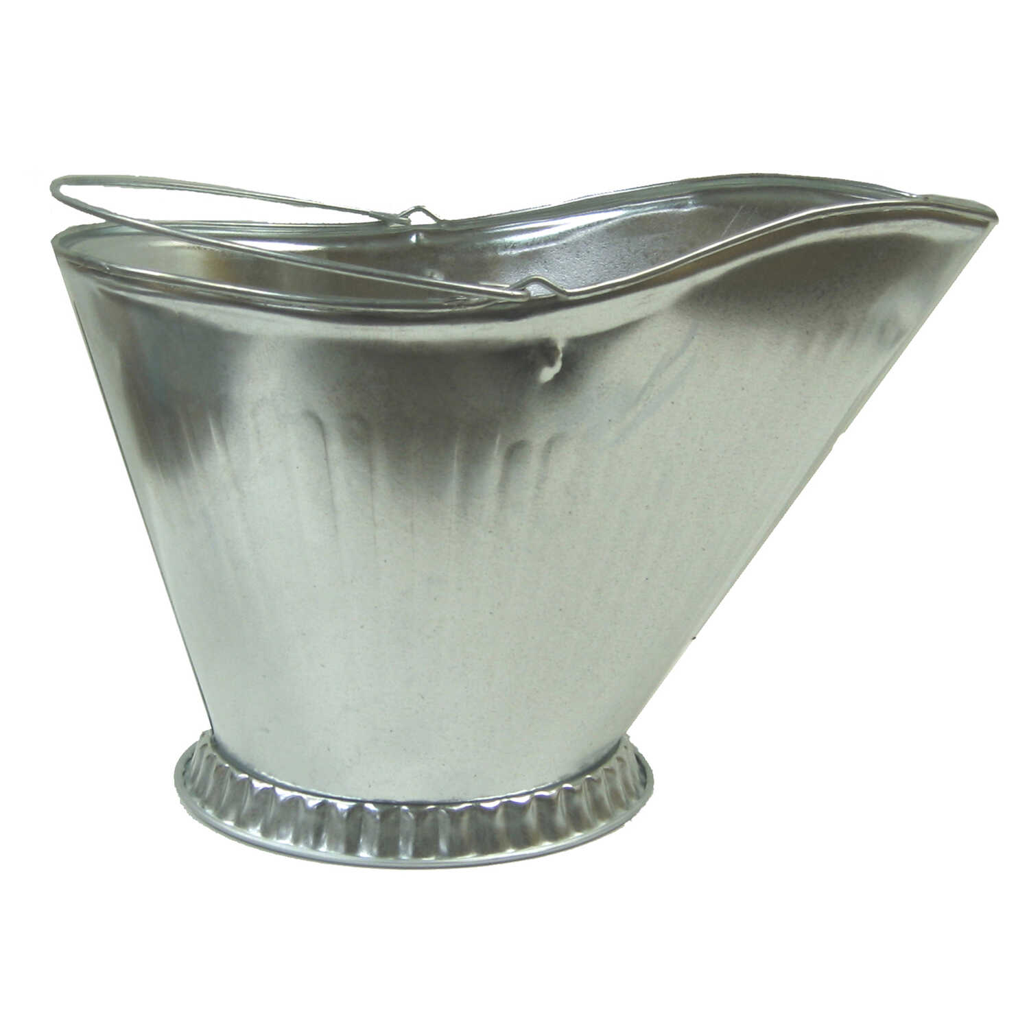 Lasting Traditions  Silver  Galvanized  Steel  Coal Hod
