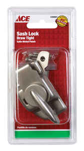 Ace  Brass  1 pk Window Lock  Silver