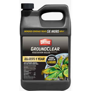 Ortho  GroundClear  Concentrate  Vegetation Killer  1 gal.