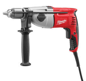 Milwaukee  1/2 in. Keyed  Corded Hammer Drill  7.5 amps 2500 rpm 40000 bpm