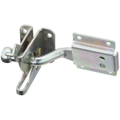 National Hardware  MaxLatch  1.05 in. H x 1.5 in. W x 11 in. L Zinc-Plated  Silver  Steel  Automatic